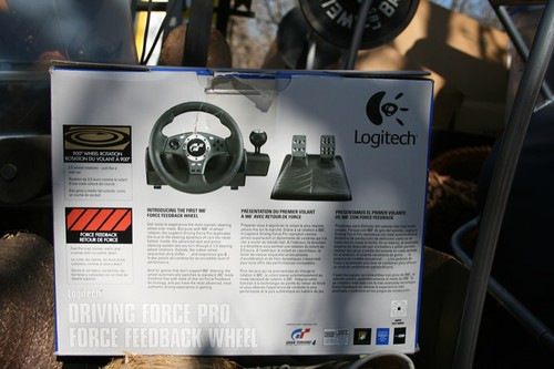 Logitech steering wheel & pedals for computer/playstation