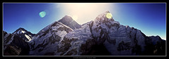 Everest Sunrise from Kala Pattar (fileacn) Tags: charity nepal sunrise trek canon 5d khumbu everest basecamp sagarmatha gorakshep kalapatthar chomolungma 1740mmf4 philipmilne fightingblindess actionchallenge