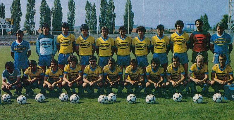gueugnon 1983-84