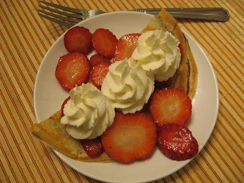 Dessert Crêpe