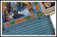 Contrasts - Woman (vinay_p (Clicksnbeyond)) Tags: rural fair tribal rajasthan beneshwar