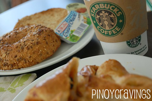 Starbucks Camp John Hay Multi-grain Bagel