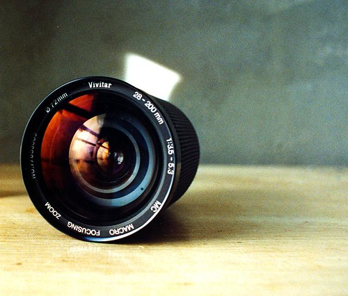 Off-Brand FD Lens - Vivitar 28 - 200mm Zoom Lens