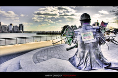 9-11 Remembered (marv117) Tags: love heart 911 wtc tribute soe 1740mm hdr jerseycitynj canon40d marv117