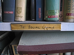 Social change label