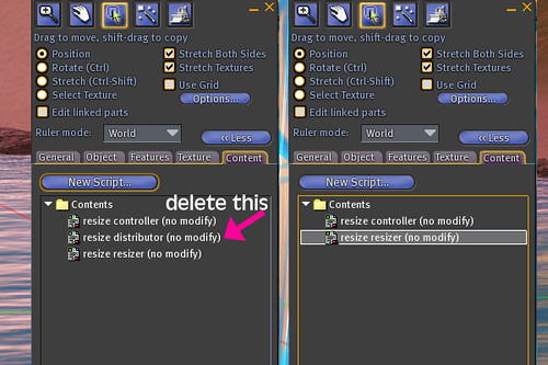 How to use a Resize Script by you.