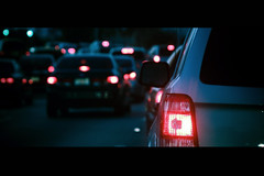 Jaded (EK Captures) Tags: cars night canon dark movie lens eos lights this traffic bokeh bored series damm cinematic 169 jaded 1740mml digitalcameraclub 40d