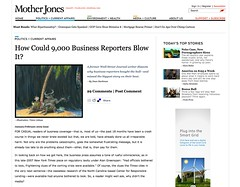 How Could 9,000 Business Reporters Blow It