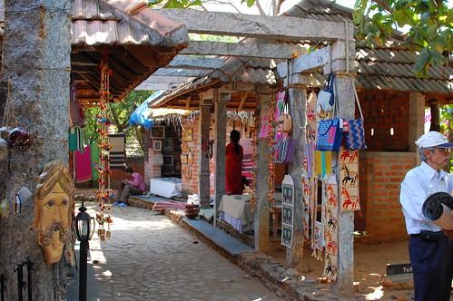 bazaar at Dakshin Chitra
