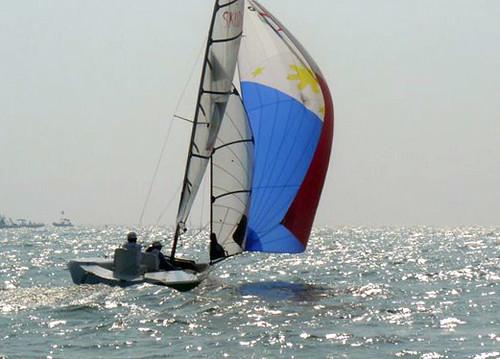 2008 Paralympic Sailing.