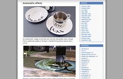 Anamorphic effects « robbie de villiers design_1236337656163