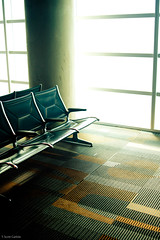 Airport Chairs (T. Scott Carlisle) Tags: tampa lakeland mulberry tsc tiltshift tphotographic 45mm28pce tphotographiccom tscarlisle tscottcarlisle