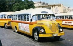 DBY 421 - The  Magirus Deutz  O3500 - Debono bus ex-no 1956 , Floriana,Malta 1996 (sludgegulper) Tags: bus buses malta 1956 maltese 53 magirus valletta deutz debono 421 774 floriana dby fby y0421 o3500 fby774 dby421