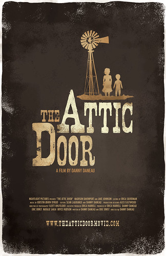 The Attic Door Theatrical Poster 2 - Designed by Julie McLaughlin