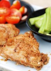 Ayam Panggang Kemiri, Sereh dan Ketumbar