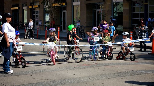 Long Beach Grand Prix, Little Kids Race, To The Starting Line