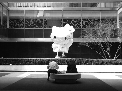 Hello Kitty at the Lever House, NYC