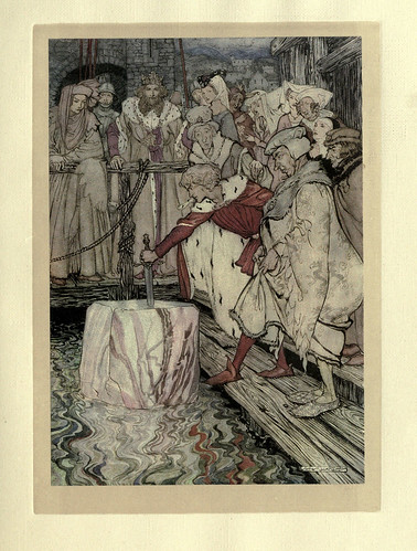 012-The romance of King Arthur and his knights of the Round Table (1917)