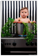 Baby cook (dominikfoto) Tags: portrait people baby hot cooking kitchen face fun cuisine funny sitting seat cook humour eat portraiture sit carrots seated bb leeks dominik recette carotte repas d300 geraud fusina poireaux peoplesitting marmitte nikond300 nikon2470mm28 dominikfusina