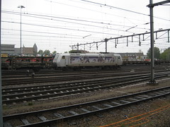 Traxx electric Loco Txlogistics build by Bombardier (giedje2200loc) Tags: electric trains huskies locomotive trainspotting bombardier txl traxx railfanning txlogistics