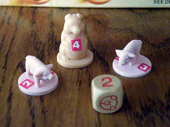 Hog Tied Game Pieces
