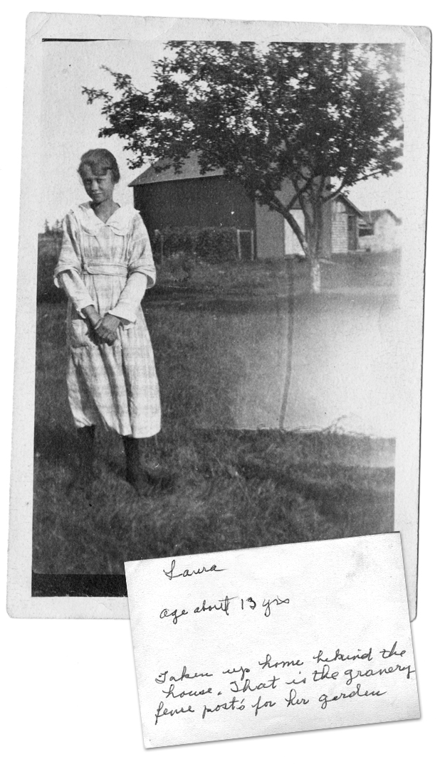 great-grandma, age 13