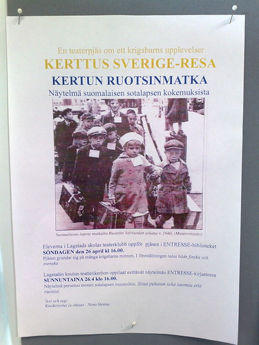 Kerttus Sverige-resa. Kertun ruotsinmatka