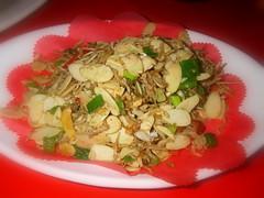 杏仁片炒魩仔魚