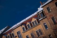 Backyard View (thomasstache) Tags: schnee germany deutschland dresden zuhause sachsen architektur dach neustadt