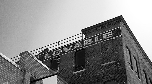 Lovable - ghost sign
