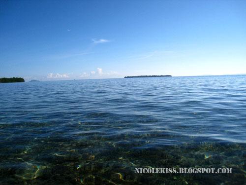bunaken view into the ocean