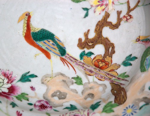 Detalj kinesisk tallerken