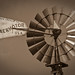 Armand Bayou - WIndmill (antiqued Sepia)