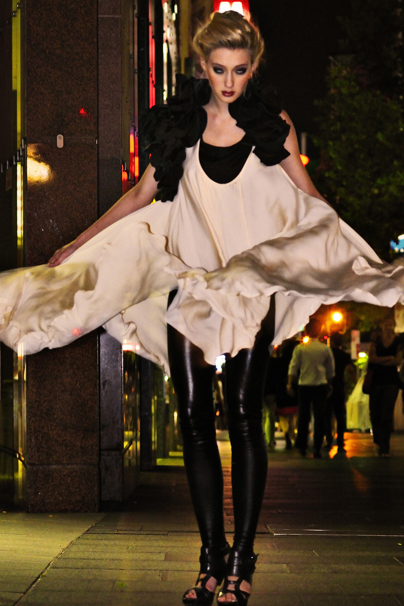 Vampire! Night Dress and Leggings, Night Fashion on George St Sydney