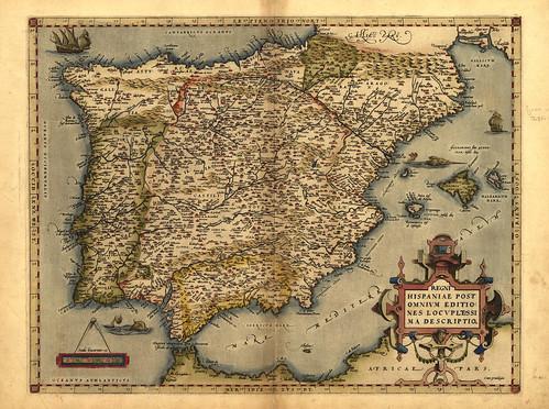 003-Theatrum Orbis Terrarum de Abraham Ortelius