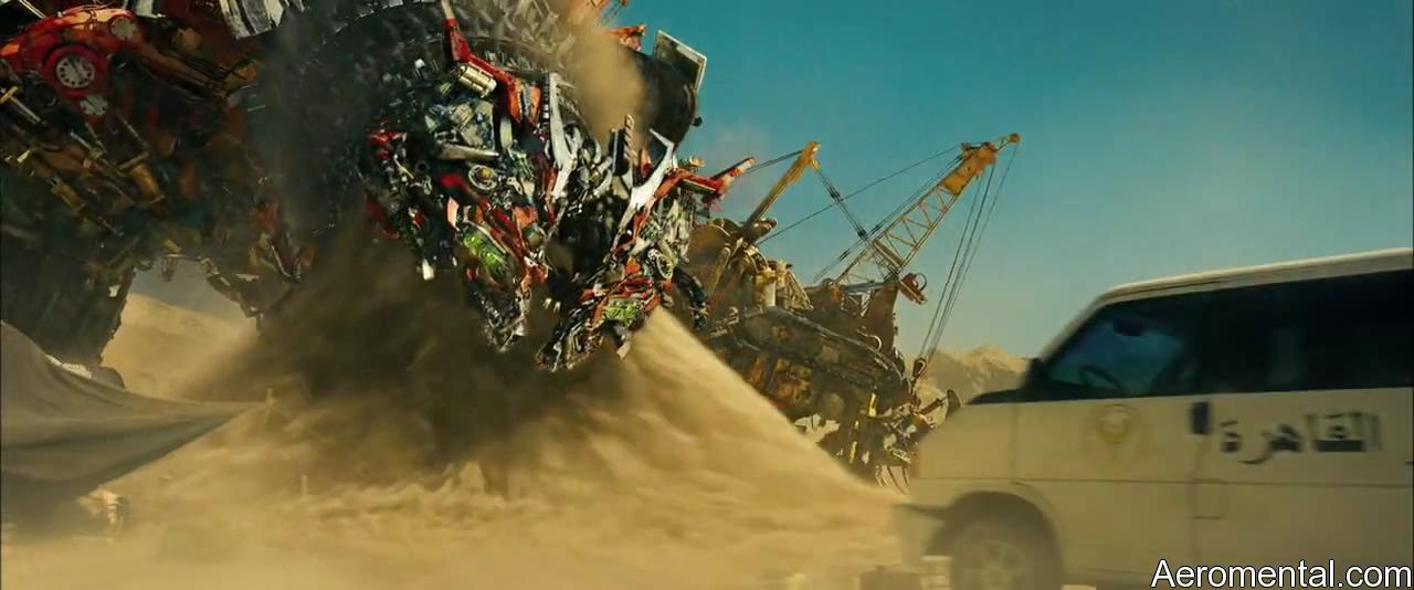 Transformers 2 Devastator absorve arena