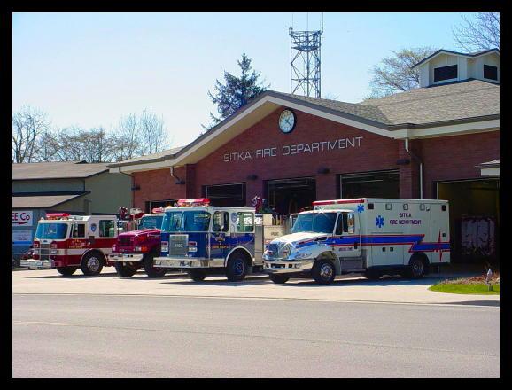 The Sitka Volunteer Fire Department