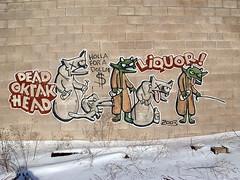 Detroit Dead © krakhead ™ (ExcuseMySarcasm) Tags: street urban streetart art mi dead graffiti michigan detroit krakhead