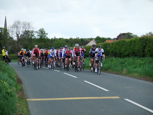 Road race passing