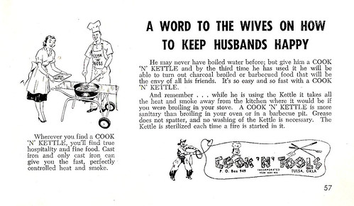 A WORD TO THE WIVES ON HOW TO KEEP HUSBANDS HAPPY