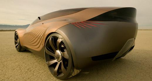 hydrogen-fueled Mazda Nagare
