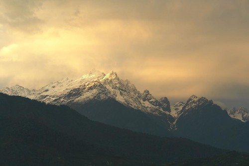 Sunset on Mt.Narsing