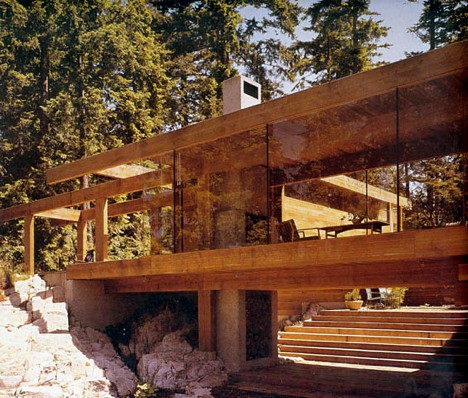Arthur Erickson, Smith House, detail
