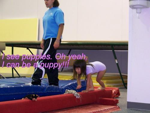 June 09 First Gymnastics Class  043