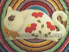 .:. Almofada de Gatinho .:. (Bonecos de Pano .Com) Tags: gato feltro decorao almofada paracasa paraolar