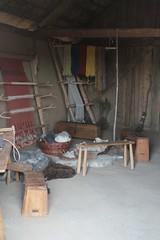 Haus des Tuchhändlers in Haithabu - Museumsfreifläche Wikinger Museum Haithabu WHH  06-06-2009