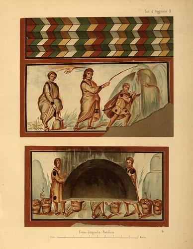 013- Pinturas en las catacumbas-La Roma sotterranea cristiana - © Universitätsbibliothek Heidelberg