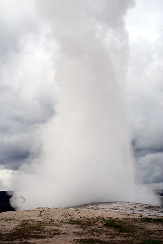 Old Faithful Blows