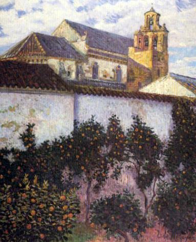 Darío de Regoyos. Torre en Córdoba. 1904