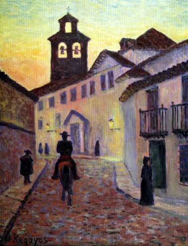 Darío de Regoyos. Una calle en Córdoba, 1903